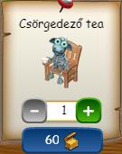 Halloween dekorok gazdabolt Csörgedező tea.png