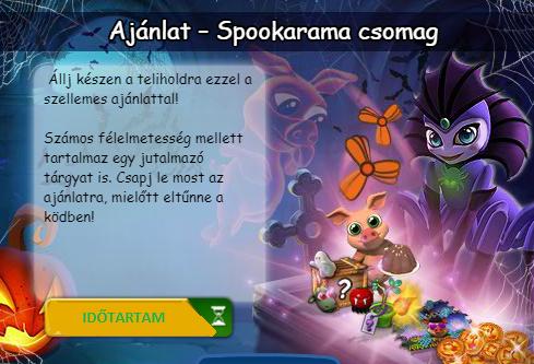 Spookarama ajánlat hírek.png
